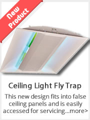 Ceiling Light Fly Trap